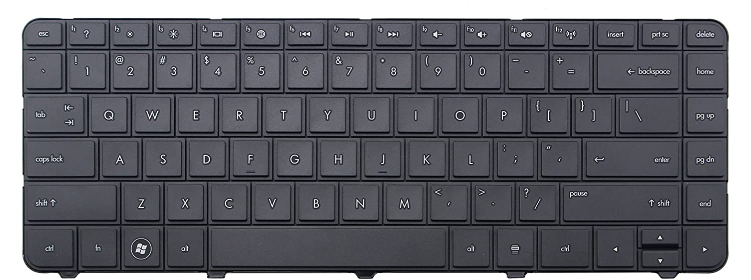 IGOPART US Keyboard Compatible With HP PN 6037B0088401Z 738687-001