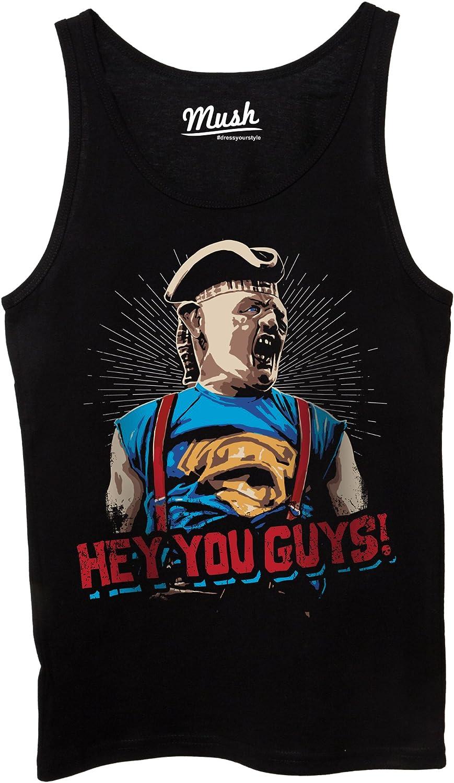 Film by Dress Your Style Uomo-M-Nera MUSH Canotta Sloth Goonies Hey Yo Guys