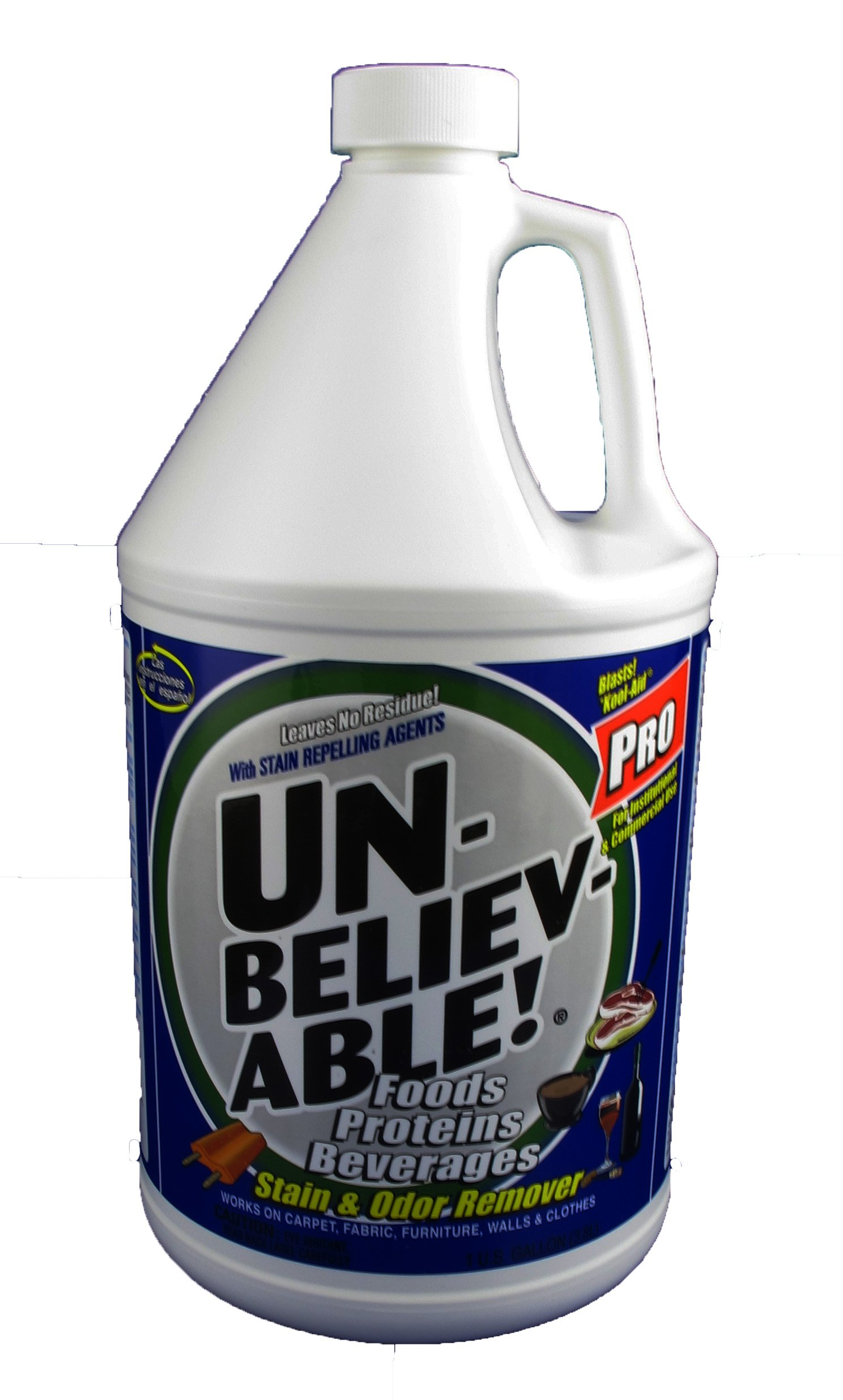 Unbelievable! UPSO-128 1 Gallon Pro Stain & Odor Remover (Case of 4)
