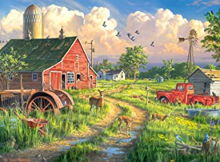 product image for Buffalo Games - Hautman Brothers - New Life at The Old Farm - 1000 Piece Jigsaw Puzzle