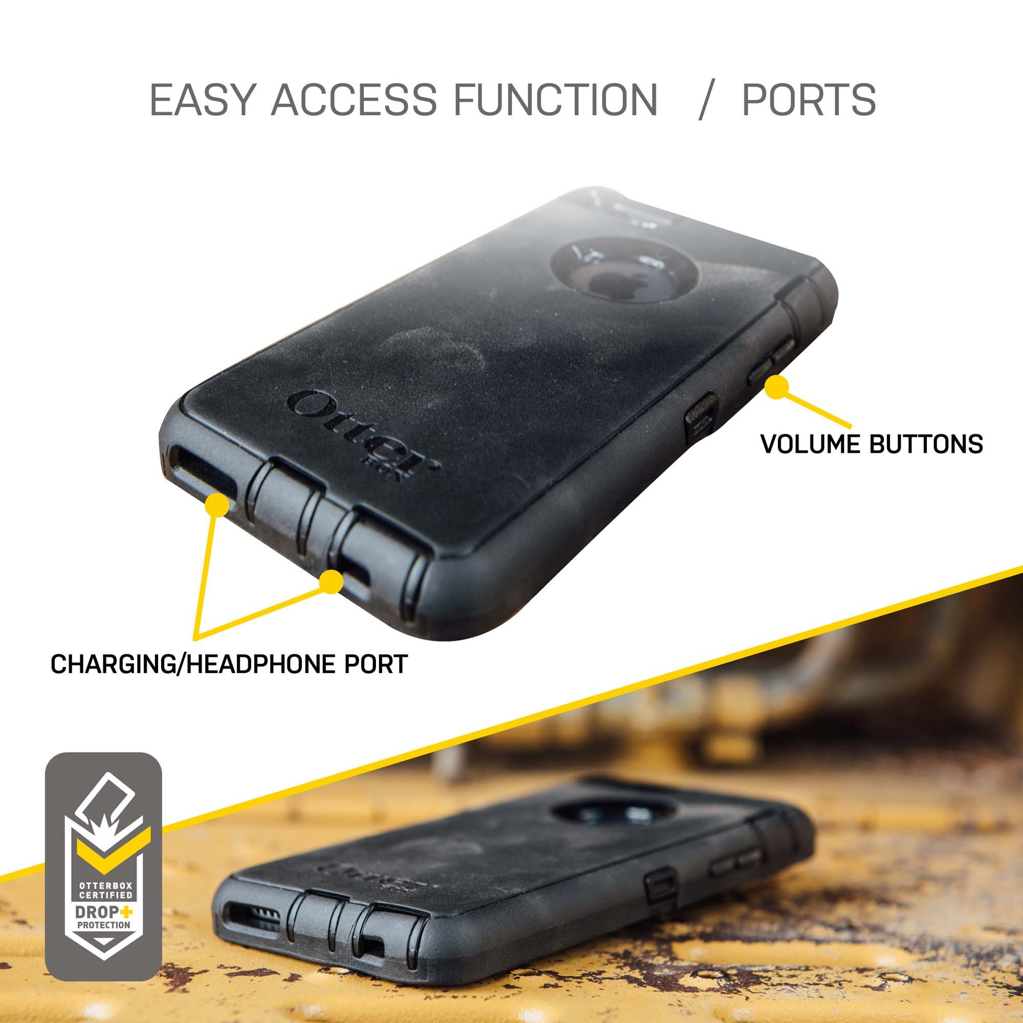 OtterBox Defender iPhone 6/6s Case - Retail Packaging - Black by OtterBox (Image #6)
