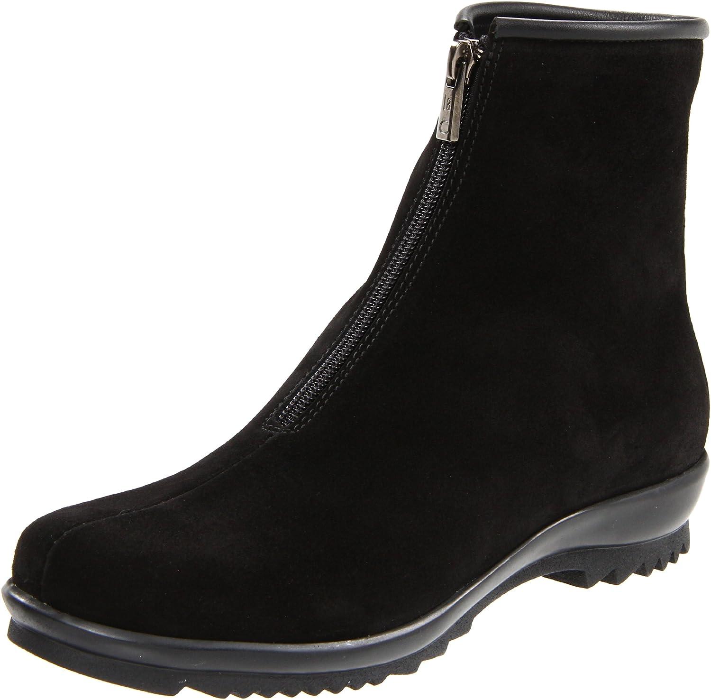 La Canadienne Women's Tiana Ankle Boot B004S8X1HE 6.5 B(M) US|Black Suede