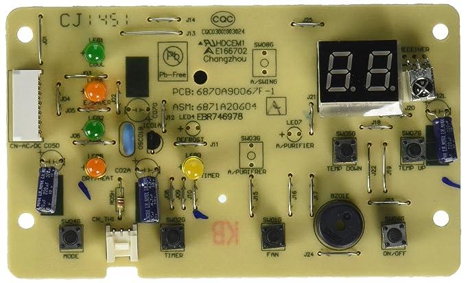 Amazon.com: LG Electronics/zenith 6871 a20604 a Junta (PWB ...