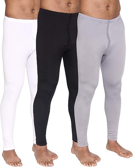 Rocky Boys Fleece Lined Thermal Leggings Long Underwear Kids Base Layer Bottom Pants