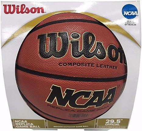 Wilson NCAA Basketball – Performances Réplique Cuir Composite ...