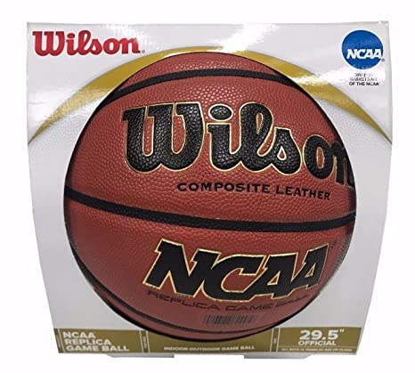 Wilson NCAA Basketball - Performances Réplique Cuir Composite ...