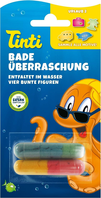 /Éponge amusante /à collectionner 10 g Tinti Surprise de bain
