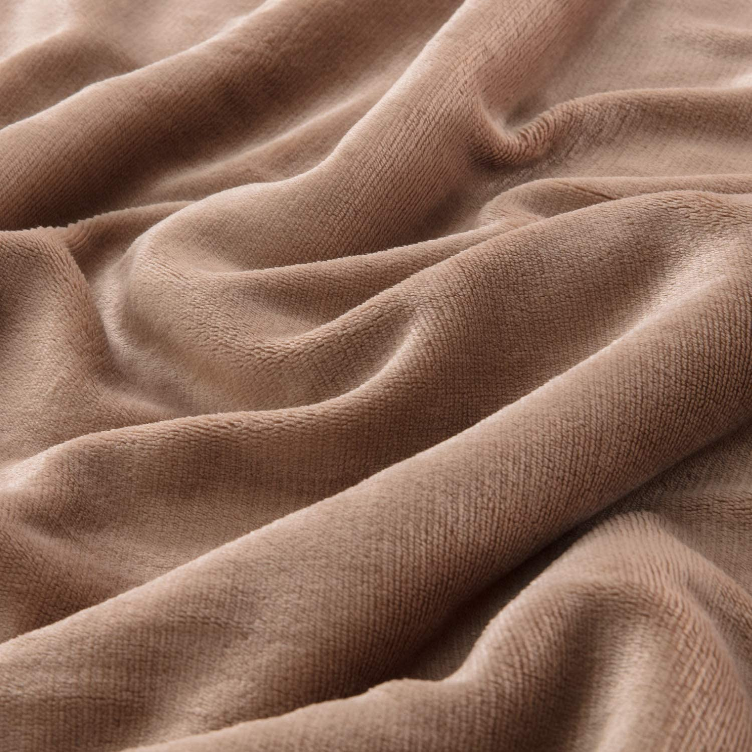 Bedsure Sherpa Blanket Brown Twin Size 60x80 Bedding Fleece Reversible Blanket for Bed and Couch