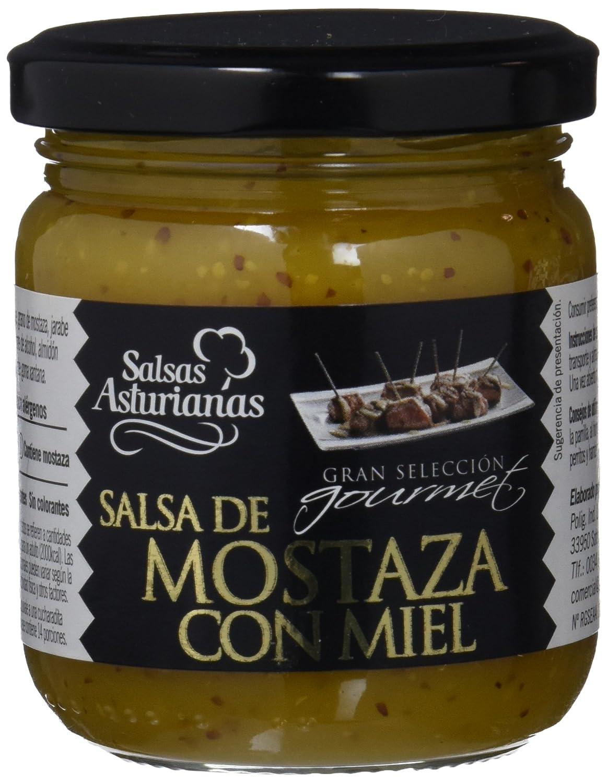 Salsas Asturianas Salsa de Mostaza a la Miel - 210 gr - [Pack de 6]: Amazon.es: Alimentación y bebidas