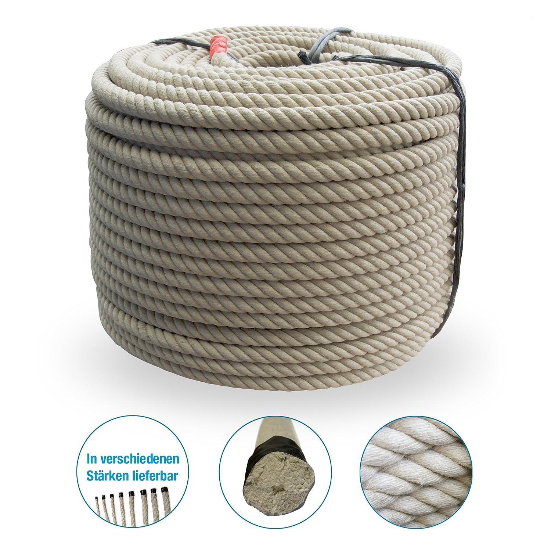 Prodotto in polipropilene corda Spinn fibra - plastica - corda - effetto canapa Corda diametro 20 mm Grevinga®