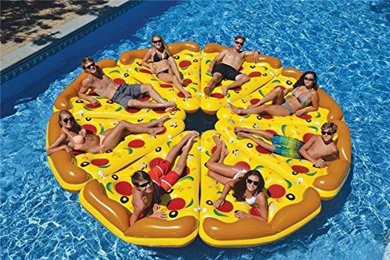 おすすめの浮き輪・フロート10選 big  ピザ