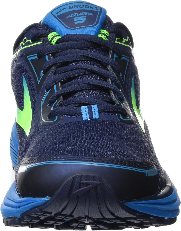 Brooks Aduro 5, Zapatillas de Gimnasia para Hombre, Azul (Peacoat Navy/Green Gecko/Methyl Blue), 40.5 EU: Amazon.es: Zapatos y complementos