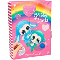 Depesche 8579–Set Creativo Glitter Cards ylvi y la