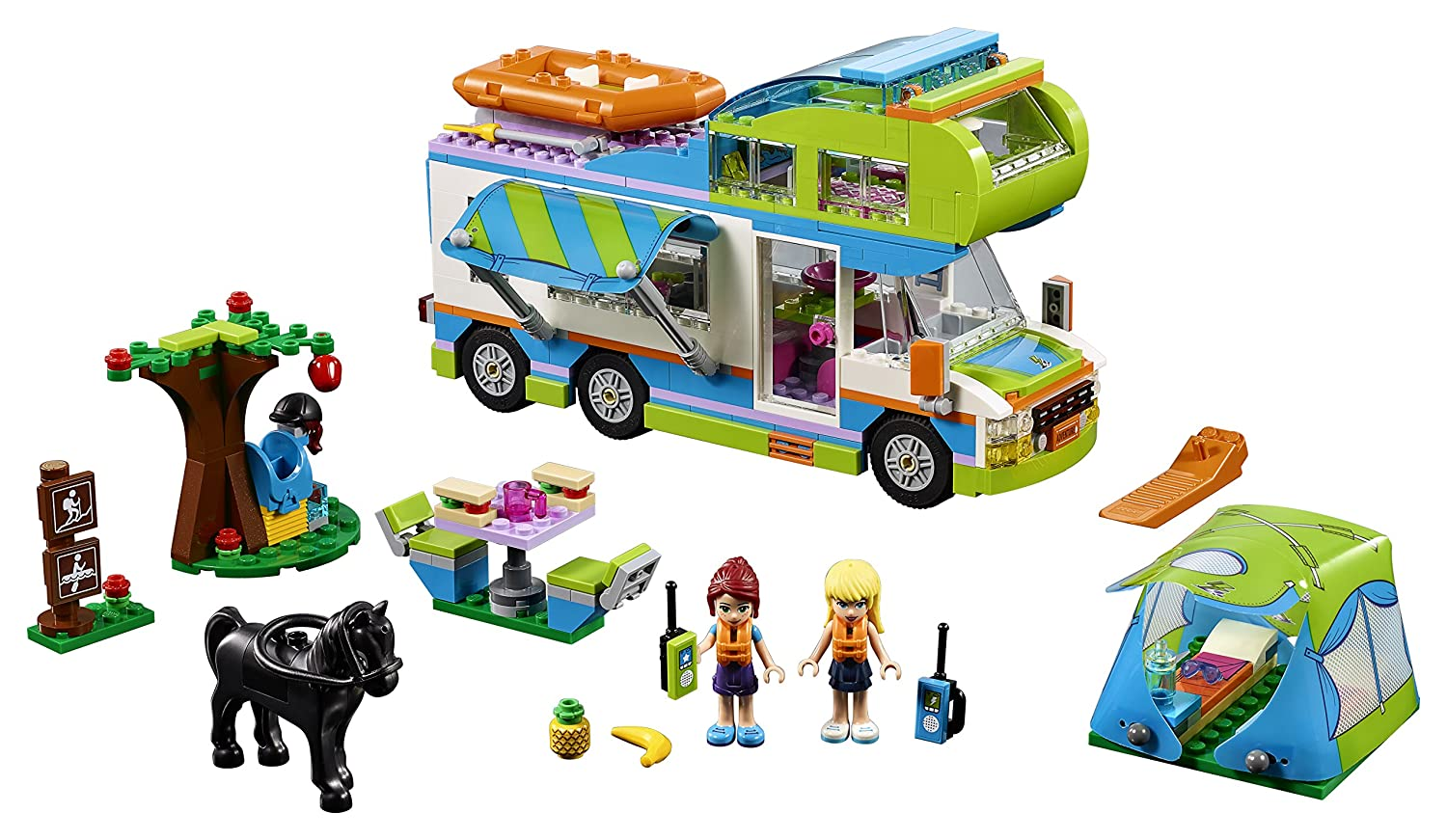 Lego 'Friends™ - Heartlake Mia's Camper Van' Set - 41339 Mia and Stephanie Mini Dolls