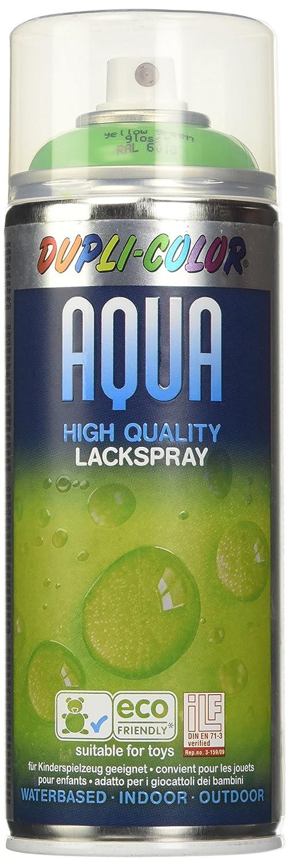 Duplicolor 252501 Vernice Aqua Lucido 6018, Verde Giallastro, 350 ml 350ml MOTIP-DUPLI GmbH
