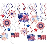 Details about  /USA Patriotic Red White /& Blue 4th OF JULY Decor Bundle
