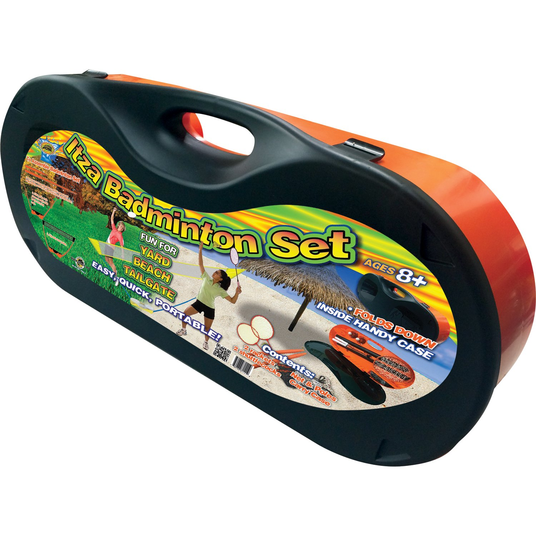 amazon com water sports portable complete badminton set toys u0026 games