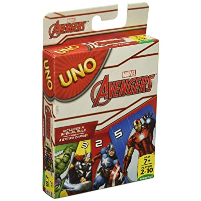 UNO: Marvel Avengers - Card Game: Toys & Games
