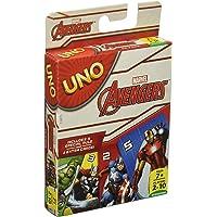 Games Mattel Uno Marvel Avengers, Multi Color