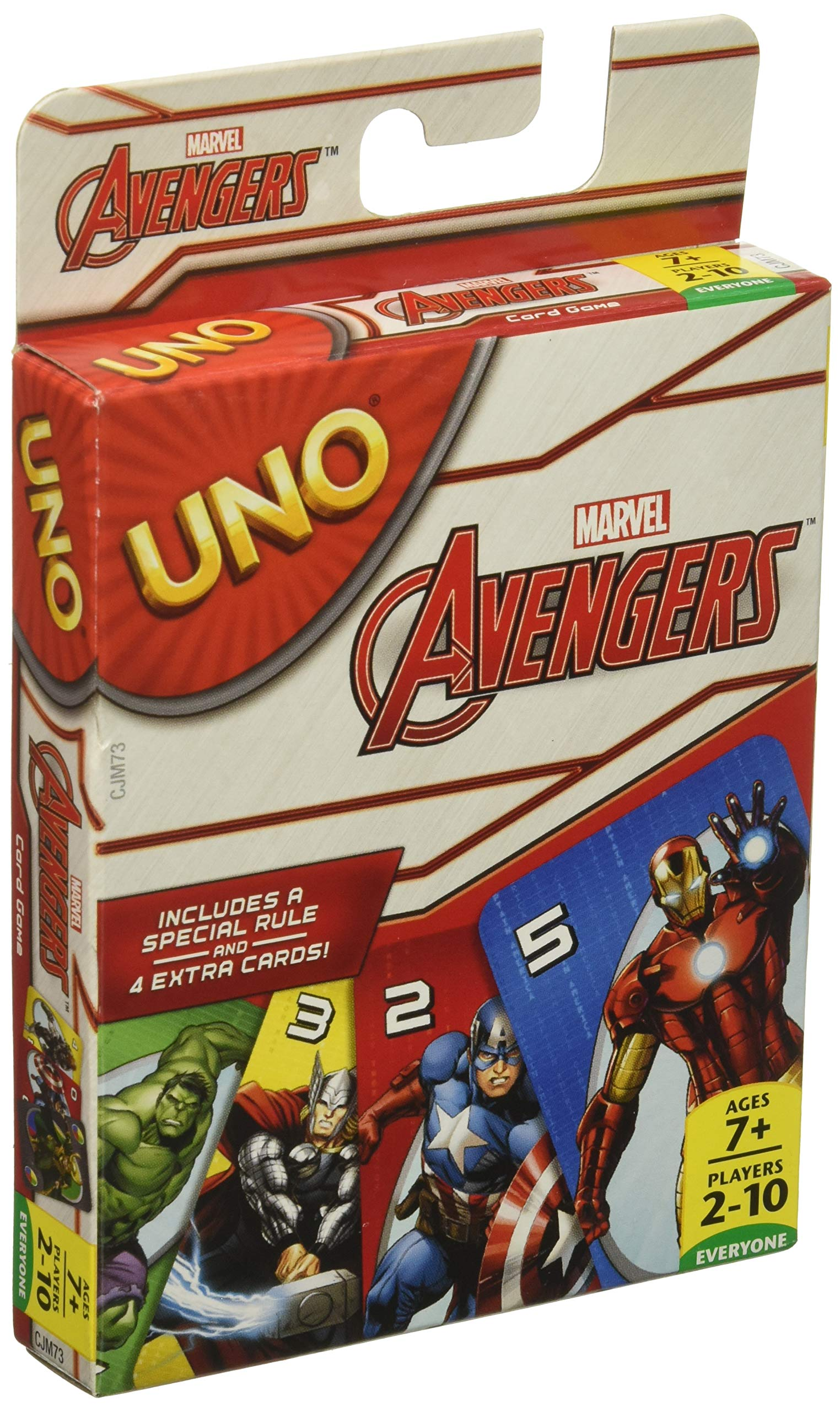 Marvel Avengers UNO Card Game Bild