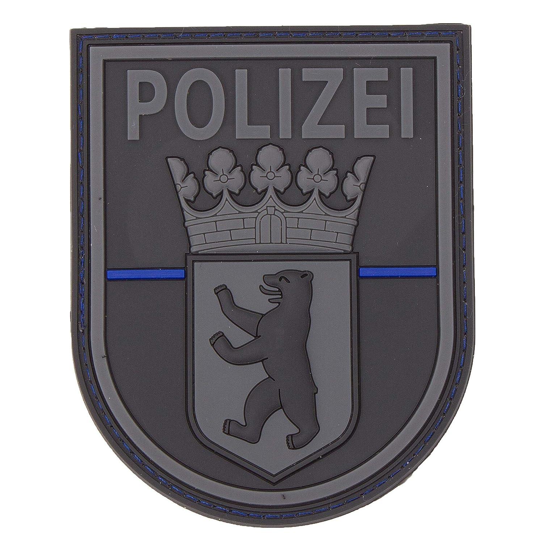 Stoffabzeichen mit Klett Bundespolizei gewebt