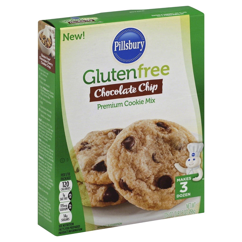 Pillsbury Gluten Free Chocolate Chip Premium Cookie Mix, 17.5 oz