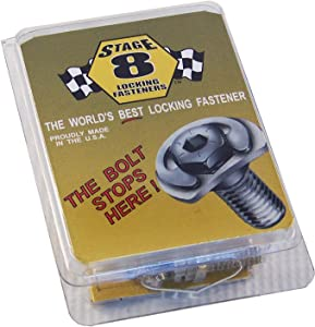 Stage 8 3902 Turbo Locking Bolt Kit with 8mm-1.25 x 25mm 6 Point Bolts