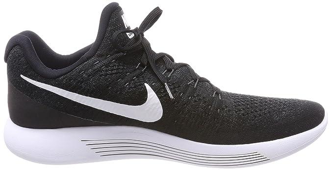 Amazon.com | Nike Mens Lunarepic Low Flyknit 2 Running Shoe (10, University Red/Hyper Punch/Black/White) | Road Running