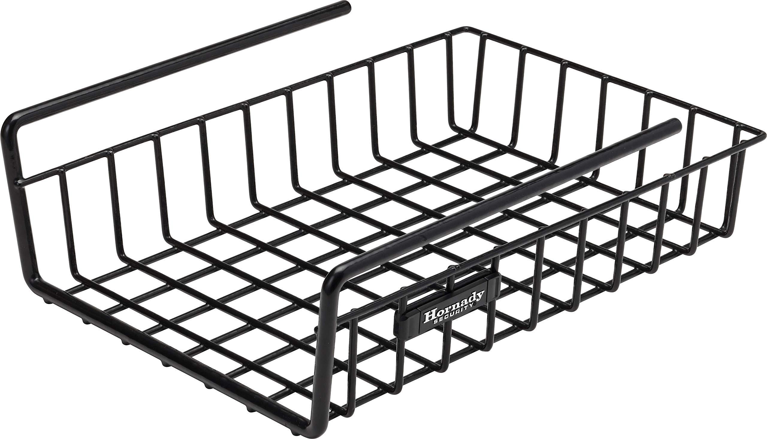 Hornady, Under Shelf Magnum Storage Basket, 8 1/2'' x 14'', Black