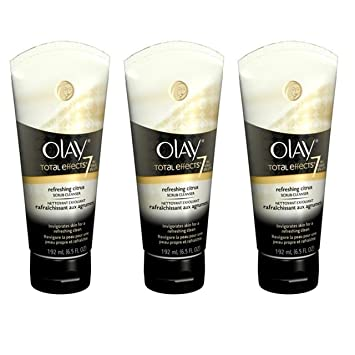 5c58ad7bc8c7 Amazon.com  Olay Total Effects Refreshing Citrus Scrub