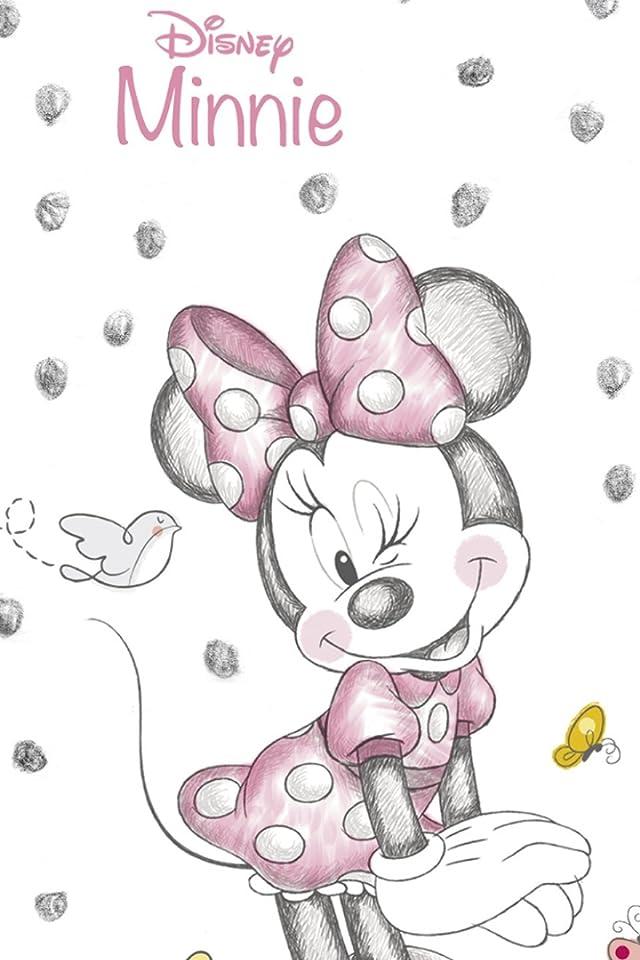 ディズニー Disney Minnie Mouse iPhone(640×960)壁紙画像