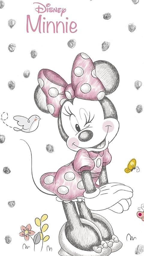 ディズニー Disney Minnie Mouse XFVGA(480×854)壁紙画像