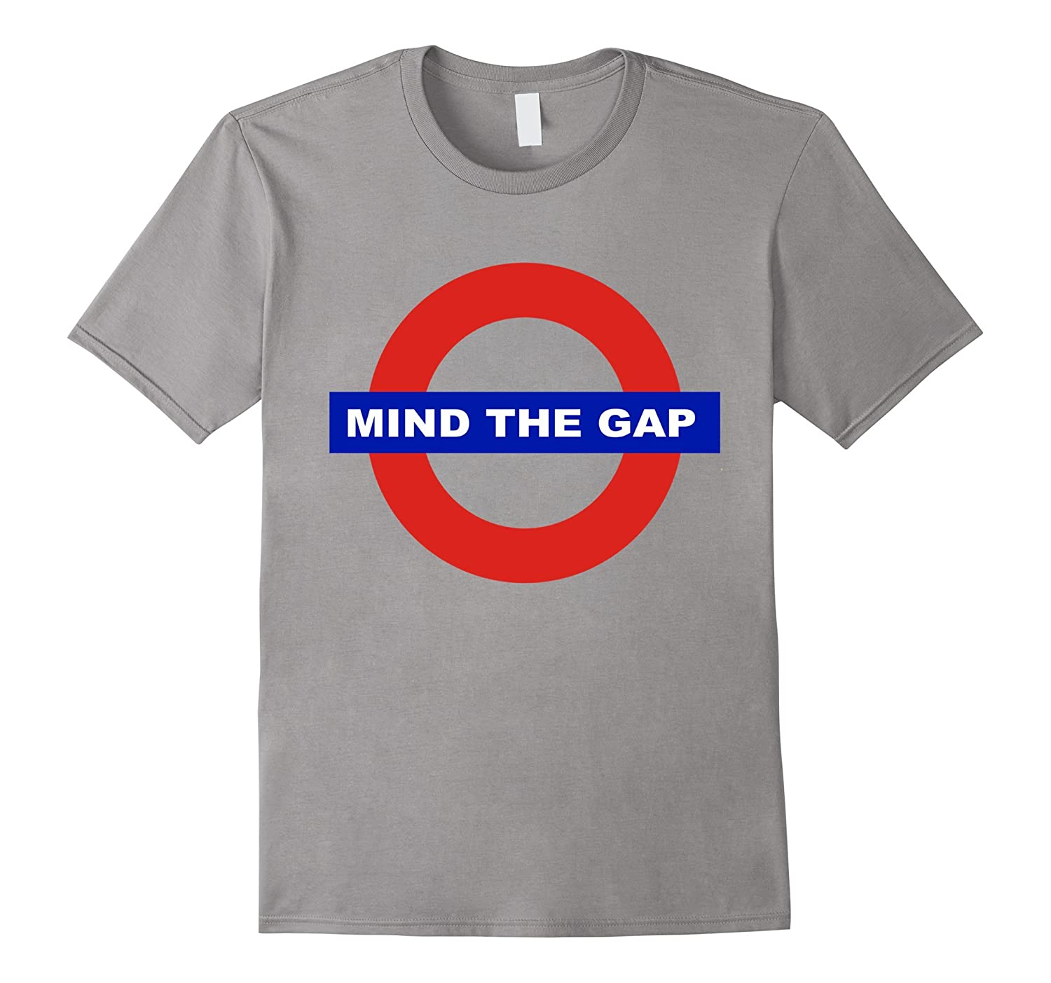 London Mind The Gap Tee Shirts UK Underground T-Shirt-CD