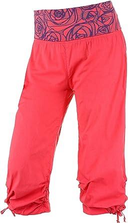E9 Mujer Pantalón de Escalada, Mujer, Rojo, Medium: Amazon ...