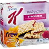 Kellogg's, Special K, Pastry Crisps, Strawberry, 4.4oz Box (Pack of 4)