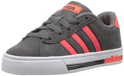 huge selection of 8a78b 04b76 adidas Kids Daily Team Sneaker,GREY FIVESOLAR REDBLACK,1