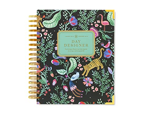 day designer daily planner 2018 original flagship best day planner goal setting
