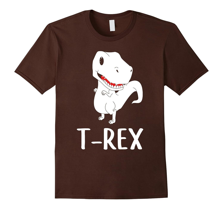 Babysaurus T-Rex T Shirt Matching Couple Family Tee-RT