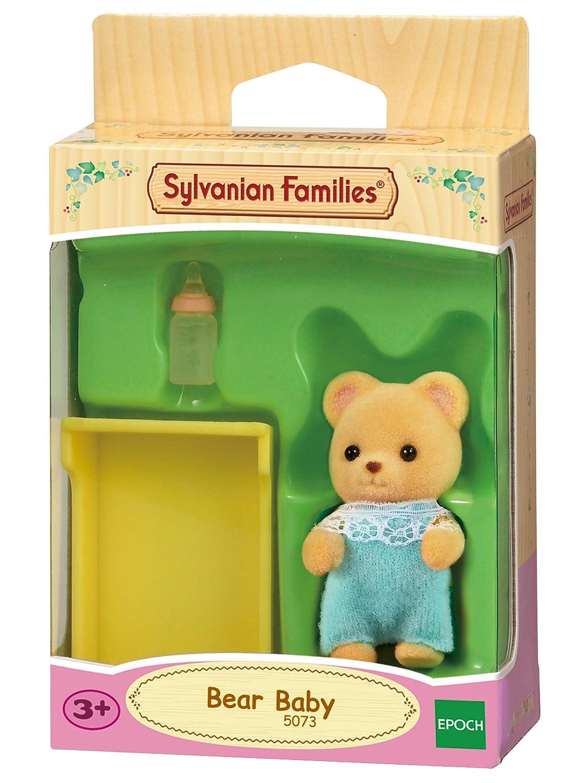 Multicolore SYLVANIAN FAMILIES Bear Baby Bebe Ours SYLVANIAN 5073