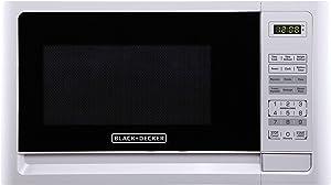 Black+Decker EM925AFO-P1 0.9 Cu. Ft. Digital Microwave