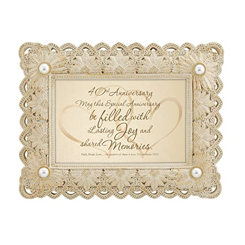 40th Wedding Anniversary Gifts For Wife: 40th Anniversary Gifts For Parents: Amazon.com