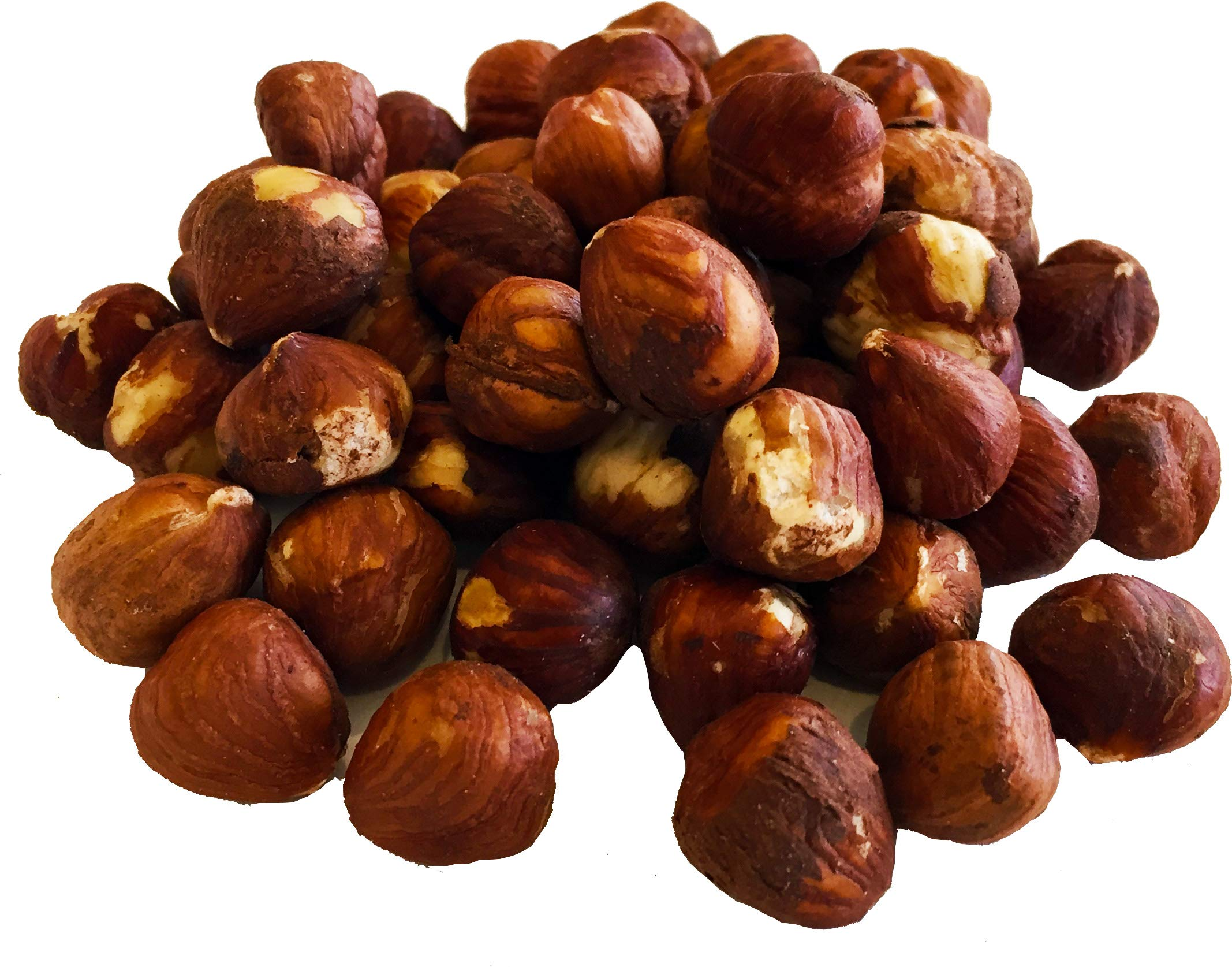 Raw Hazelnuts 24 oz 1.5 LB (Whole, Unsalted, No Shell, All Natural, Non-GMO, Kosher, In Resealable Bag, Nutrient Dense Low Carb High Fat Snack) by BetterFoods