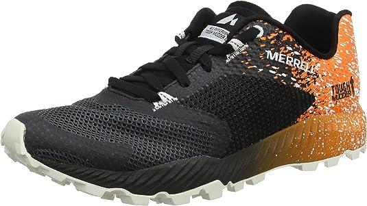 Merrell All out Crush Tough Mudder 2, Zapatillas de Running para Asfalto para Hombre, Negro (TM Orange), 41.5 EU: Amazon.es: Zapatos y complementos