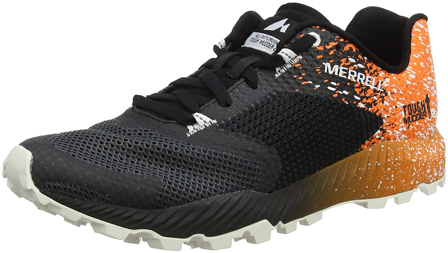 TALLA 42 EU. Merrell All out Crush Tough Mudder 2, Zapatillas de Running para Asfalto para Hombre