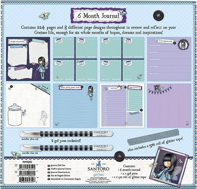 Notizbuch mit Vorh/ängeschloss 522GJ06