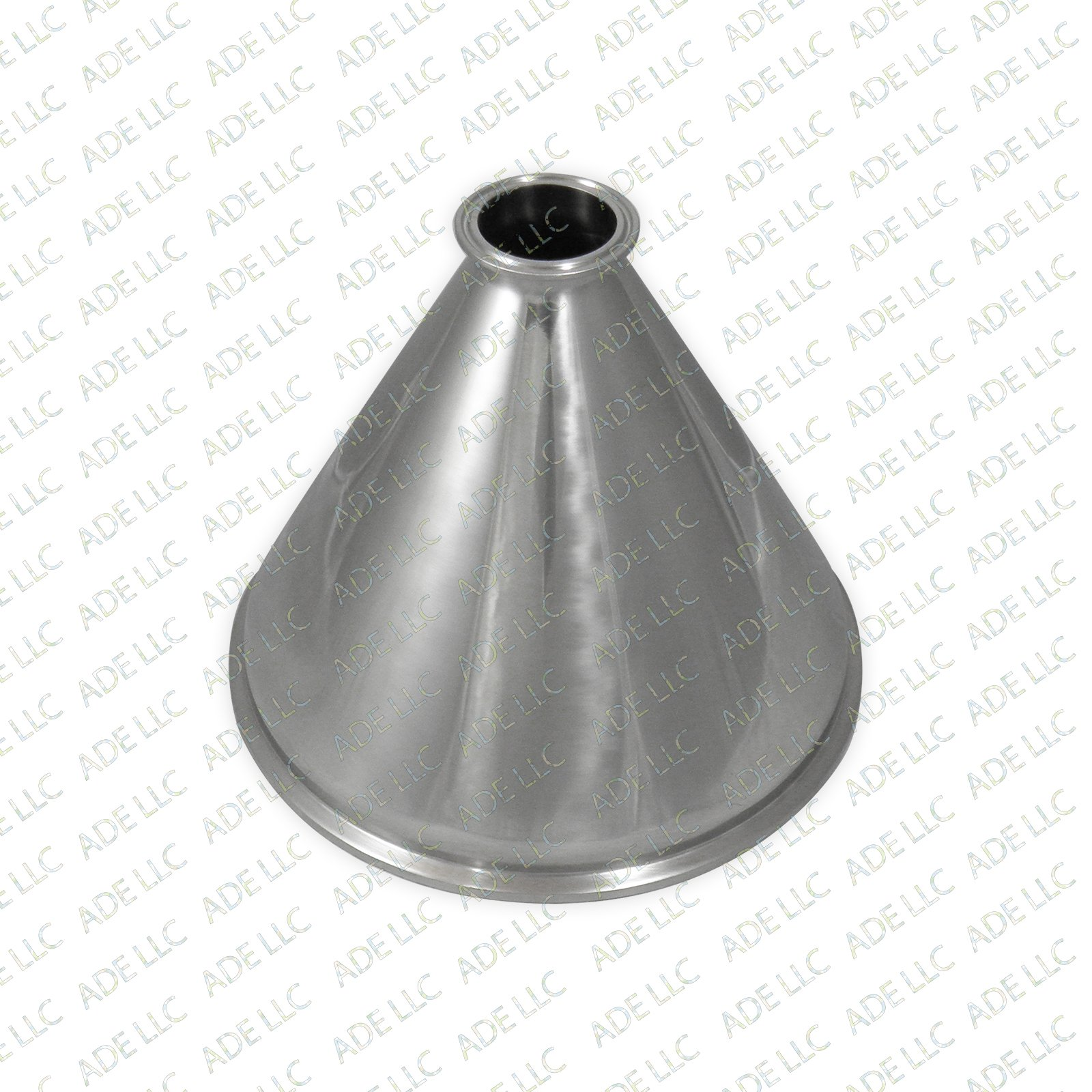 10'' x 2'' Tri Clamp, Tri Clover, Sanitary, Concentric Reducer, 304 Stainless steel
