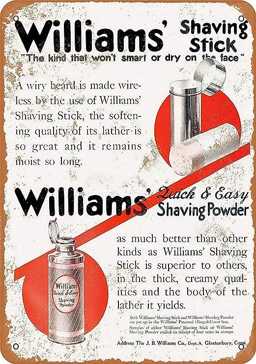 MiMiTee Williams Shaving Sticks Powders Cartel De Chapa ...