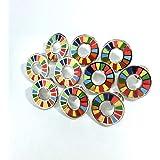 10個 SDGs ピンバッジ 最新仕様 国連本部限定販売 日本未発売