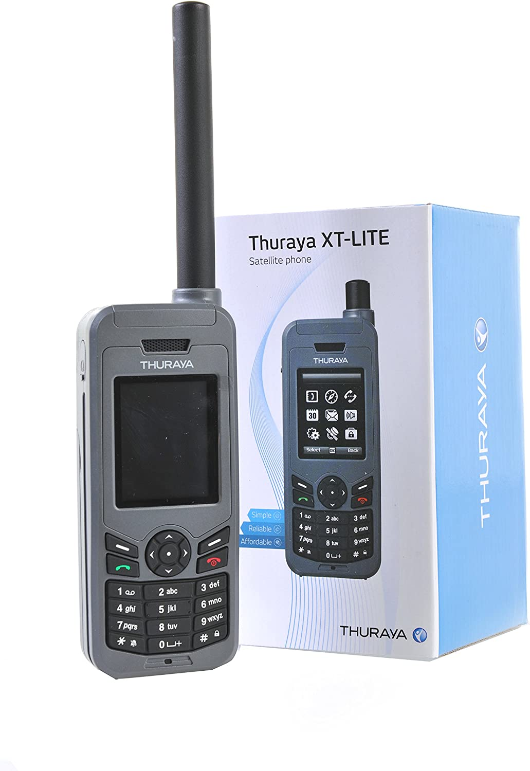 Amazon | Thuraya XT-LITE Satellite Phone プリペイド 衛星 携帯 電話 ...