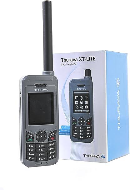 Amazon | Thuraya XT-LITE Satellite Phone プリペイド 衛星 携帯 電話 ...